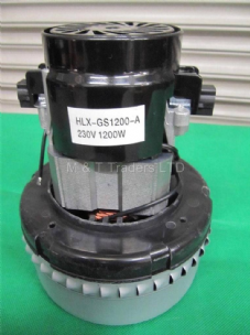 Replacement Motor for the SB28 Vacuum Sand Blast Pot HLX-GS1200-A